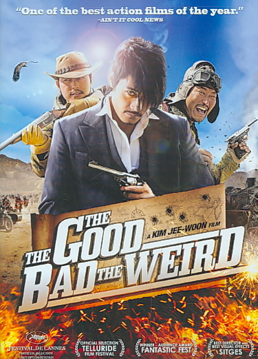 GOOD BAD AND WEIRD BY WOO-SUNG,JUNG (DVD)